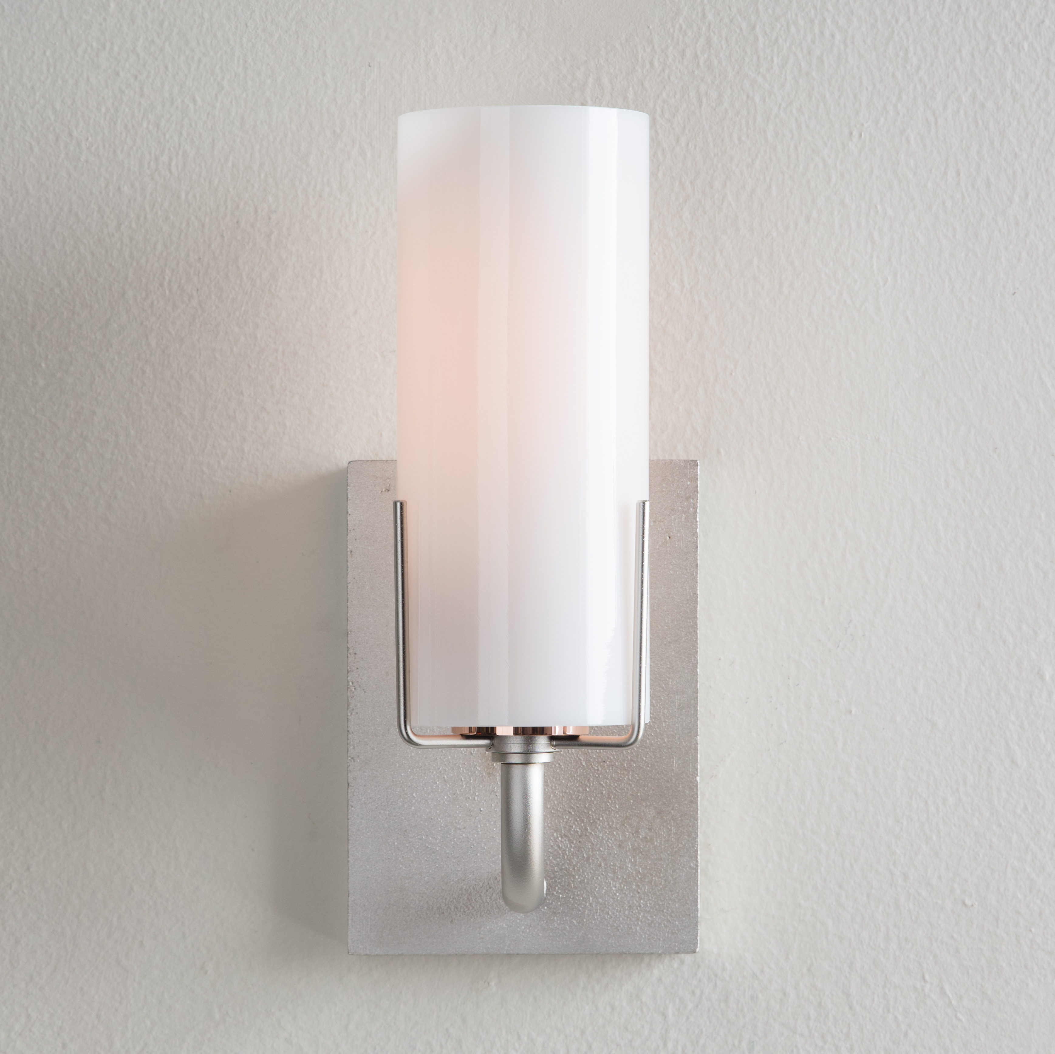 Evergreen Sconce, brushed nickel