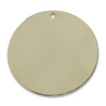 Polished Brass Finish Swatch