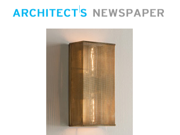 The Palm Wall Bracket is featured in Architect's Newspaper.
