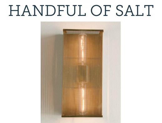 The Palm Wall Bracket gets a nod on the Handful of Salt blog.