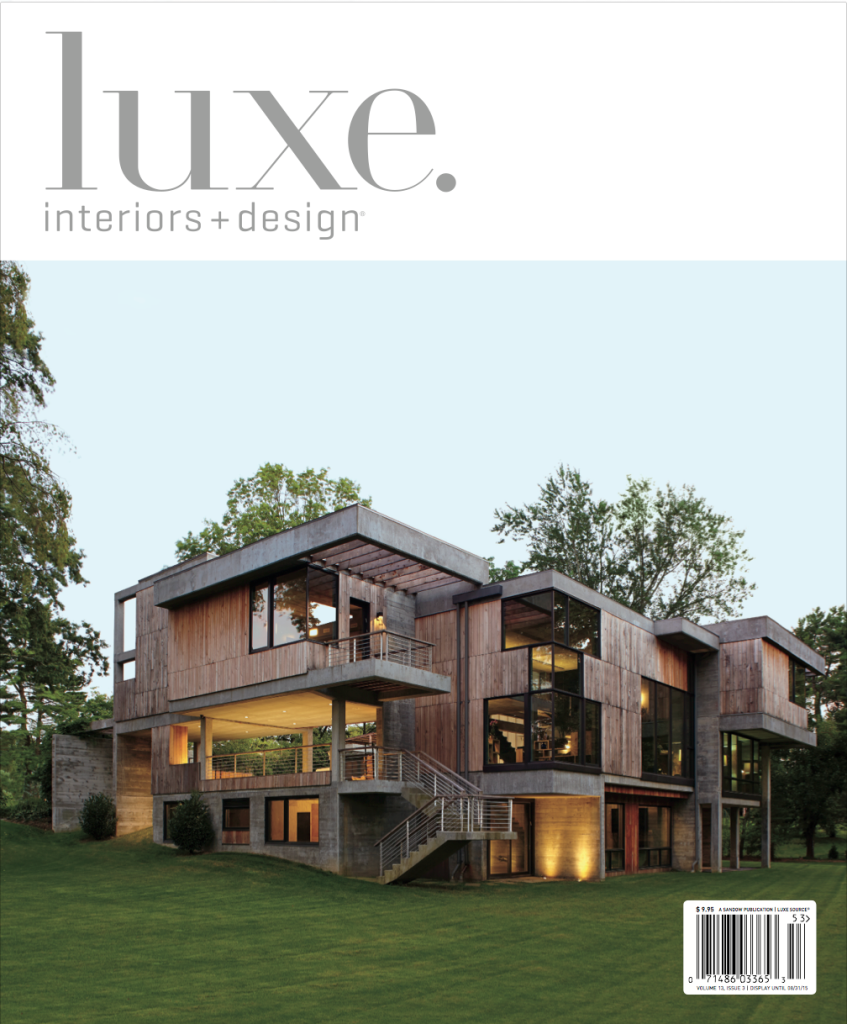 Luxe Magazine Cover