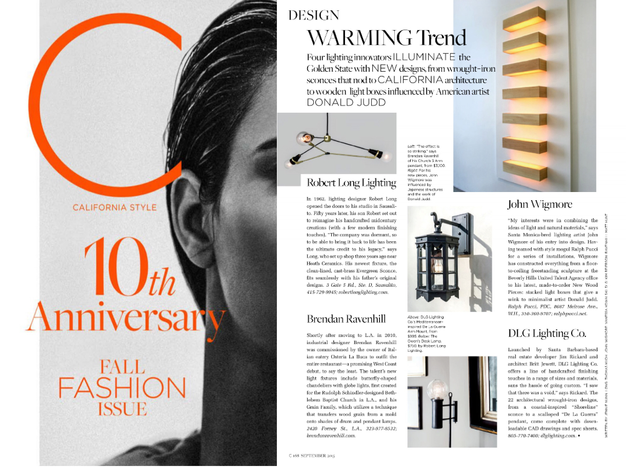 Owens Desk Lamp featured in C Magazine