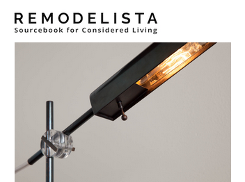 The George Swing Arm Lamp featured on Remodelista's blog.