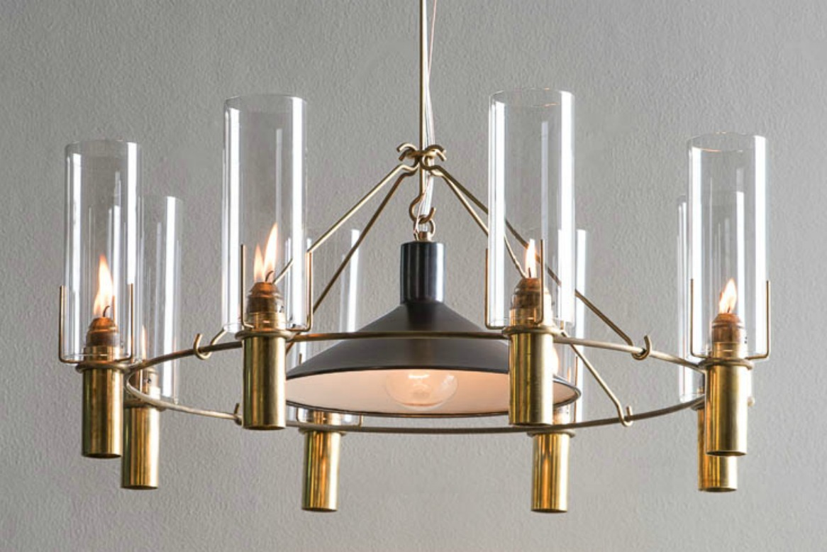 The Oliver Chandelier with Reflector